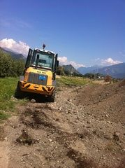 EPG-Nunes - Valais - Construction - Terrassement